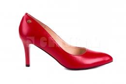 Czółenka Emis S6341-442 Czerwony