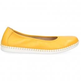 Baleriny Caprice 22154-24 Żółty