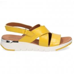 Sandały Caprice 28700-24 Żółty